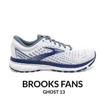 Brooks Fans Ghost 13