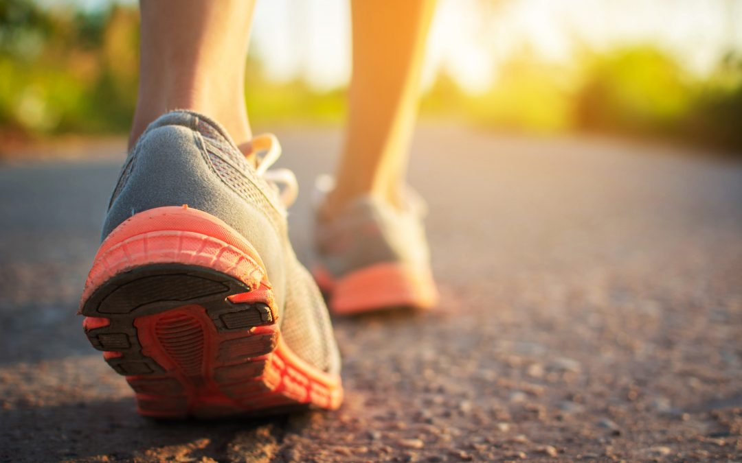 Walking to better health with shoes that fit