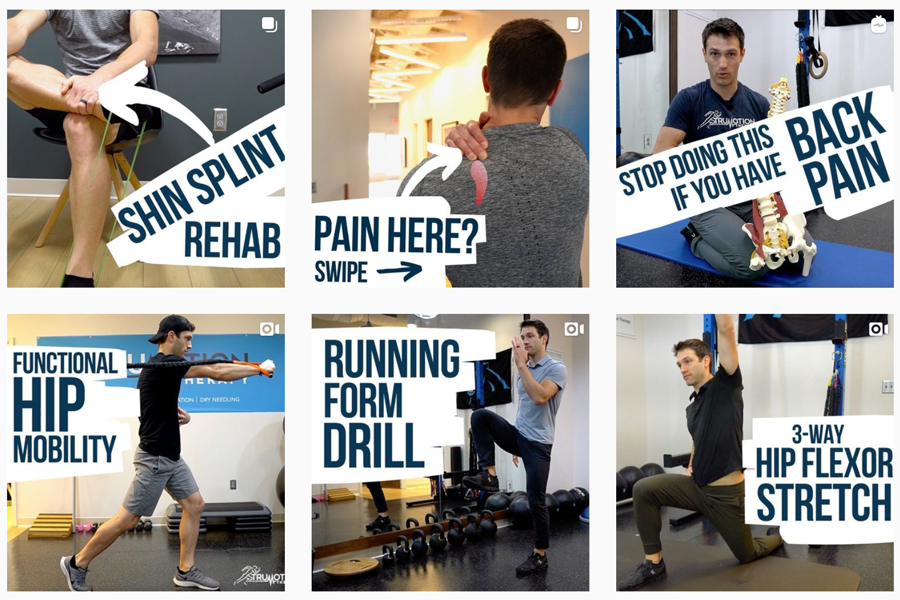 TruMotion Therapy Instagram Page