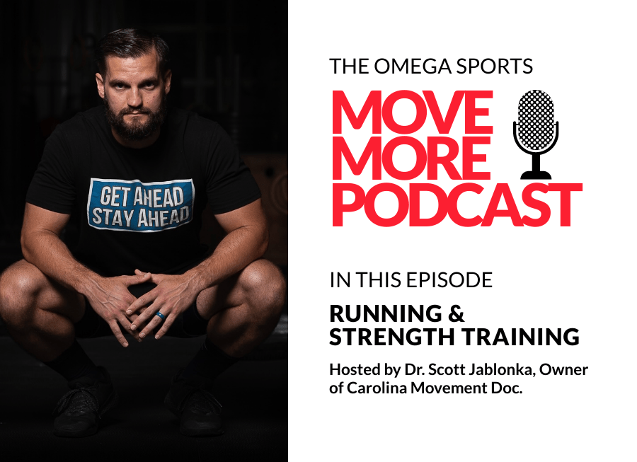 The Omega Sports Move More Podcast hosted by Dr. Scott Jablonka - Episode 3