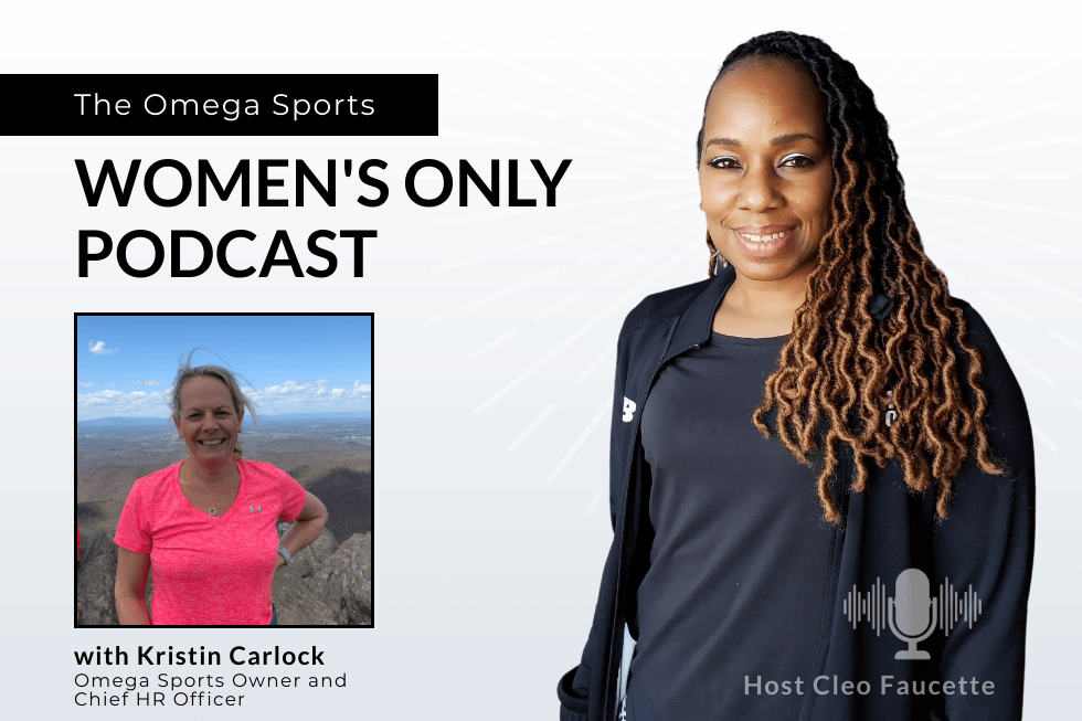 The Omega Sports Women's Only Podcast, hosted by Cleo Faucette