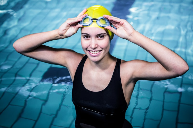 Customize Swim Goggles with a Bungee Strap