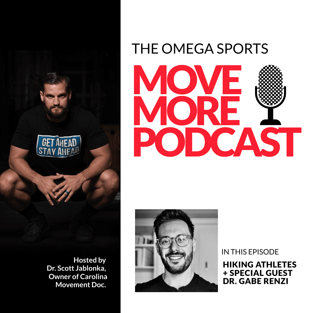 The Omega Sports Move More Podcast with Dr. Scott Jablonka