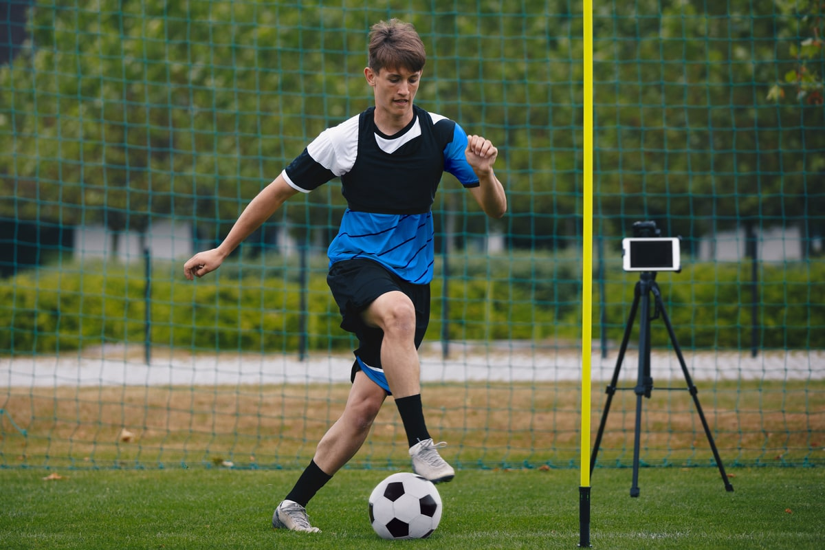 Training vs Working Out: Soccer player training